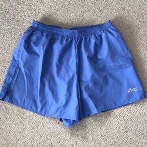 ASICS running shorts with inner liner